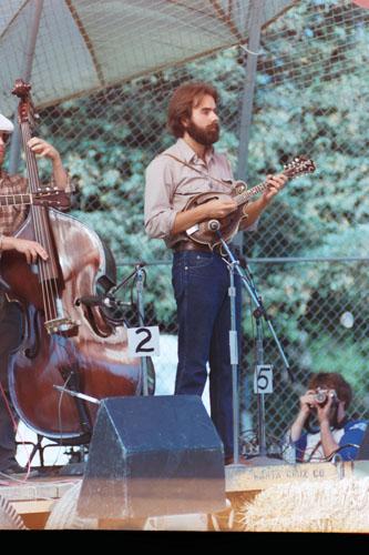 John Reishman with his Gibson Lloyd Loar F-5 Mandolin